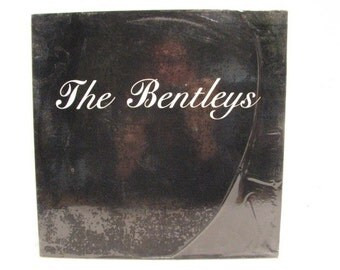 The Bentleys S/T LP, Vintage Vinyl Record, Punk New Wave Rock on Leslie Records from 1985 in Shrink