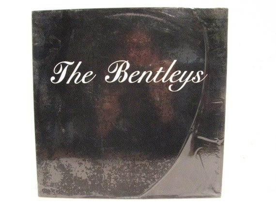 Vintage The Bentleys LP, S/T Vinyl Record, Punk New Wave Rock on Leslie Records from 1985 in Shrink