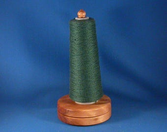 Big Leaf Maple Yarn / Thread Holder - Natural Wax Finish