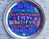 Hand Painted Quote Bohemian Style