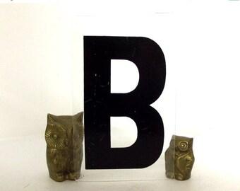 Vintage Sign Letter B for industrial home decor