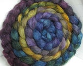 BFL/Tussah/Firestar 50/25/25 Roving Combed Top - 5oz - Spectrum 2