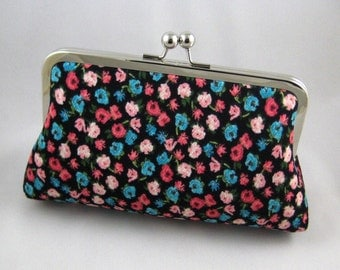 Bridesmaid Gift | Bridesmaid Clutch | Bridesmaid Present | Bridal Shower Gift Floral