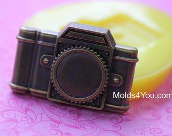 Camera Mold Silicone Chocolate Mold Fondant Camera Mold Soap Polymer Clay Wax DIY Resin Mold