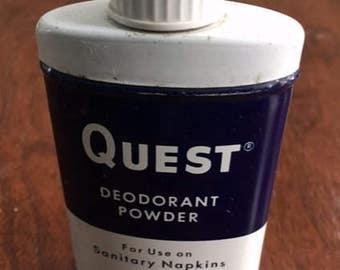 Quest Feminine Deodorant Powder