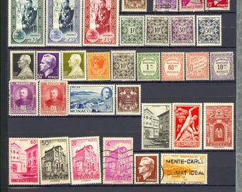 Large Worldwide Stamp Singles Used and Mint 12 Scans Antique and Vintage Lot P22