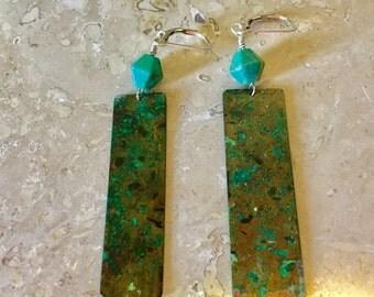 Sonoran Copper Earrings