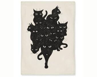 Cat Crew Kitchen Towel