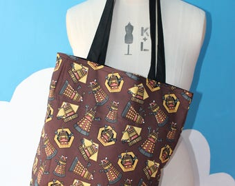dalek - doctor who - tote bag
