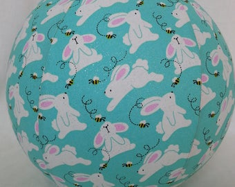 Balloon Ball  - Glitter Easter Bunnies - great toy for EASTER basket - as seen on parenting.com