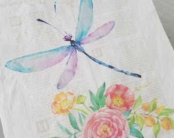 dragonfly fabric | etsy