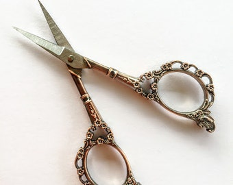 Vintage Look Embroidery Scissors Sewing Scissors Knitting Accessories