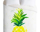 Pineapple Sunshine Duvet Cover