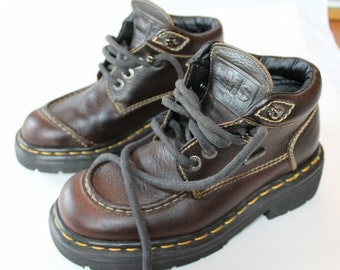 Vintage Doc Martens Shoe Boots, Made in England, Men's Size 5