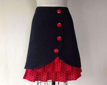 SALE Betty ruffle front skirt Sz 4