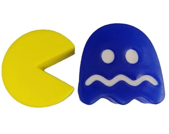 Officially Licensed PAC-MAN Soap Set, Retro Ghost and Pac-Man, Bandai Namco Entertainment Licensed