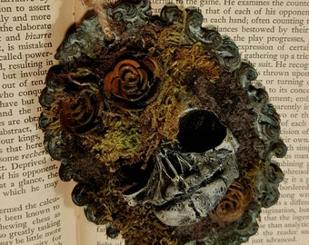 Unearthed - Beneath the Roses I Assemblage Ornament