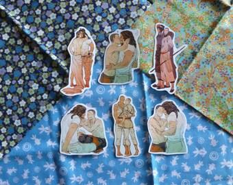 spiritassassin spacehusband stickers