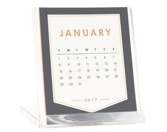 2018 REFILL Desktop Calendar