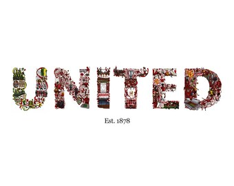 Manchester United Illustration, Limited Edtion
