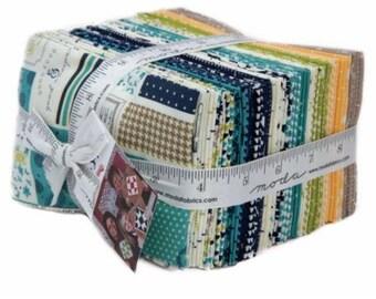 SUMMER SALE - Sunday Supper - Fat Eighths Bundle (40) - Sweetwater - Moda Fabrics
