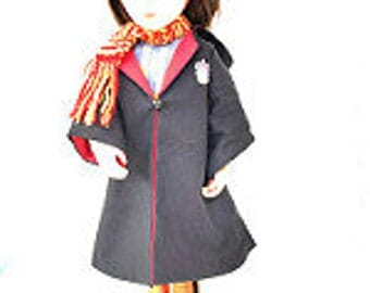Wizard Robe and Scarf for 18 or 16 inch Doll