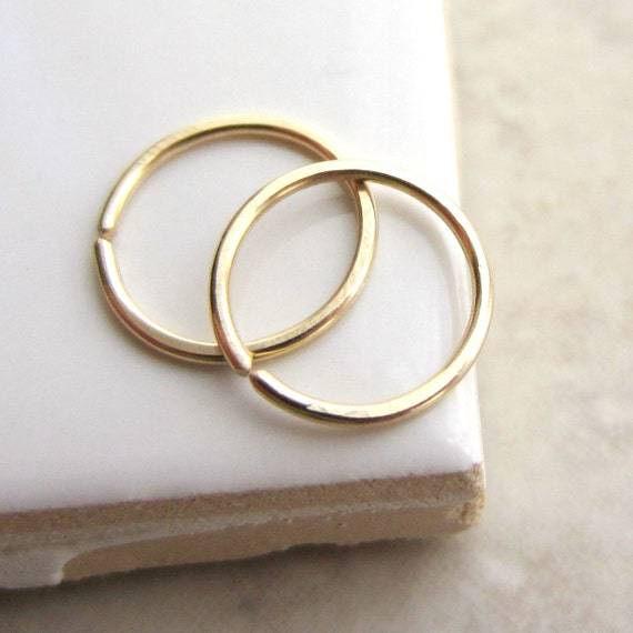 small hoop earrings for second snug fit small gold hoop earrings ear lobe by 7595