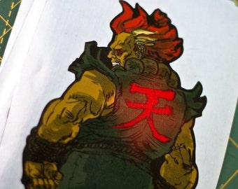 Hero Stickers - Akuma