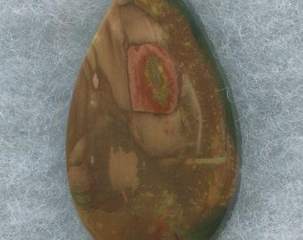 Morrisonite Jasper Designer Cabochon from Eastern Oregon