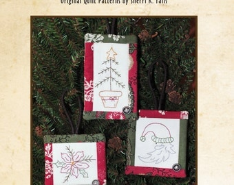 Merry Mini's #1 Embroidery Ornament Pattern