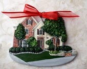 Custom listing for LaurenL-  one Custom House Ornament - a cherished keepsake of your home