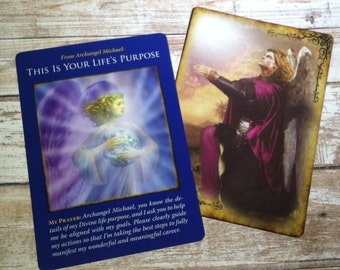 One Card Oracle Reading With The Archangel Michael Deck For Insight And Inspiration