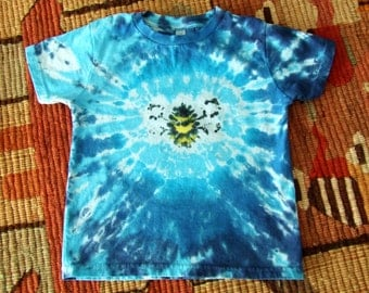 Toddler 5/6  Tie Dye T-shirt - Honey Bee - Ready to Ship