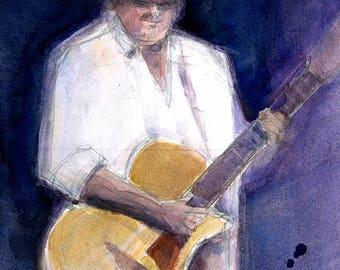 Guitar Man - Martin Saxton  and Folk- rock - blues- music den