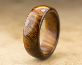 Size 9.5 - Tamboti Wood Ring No. 274