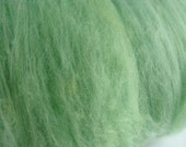 Merino Wool Batt - Soft Mint - Affordable, Fluffy, Easy to Spin Fiber  - Downsizing SALE  Must Go!