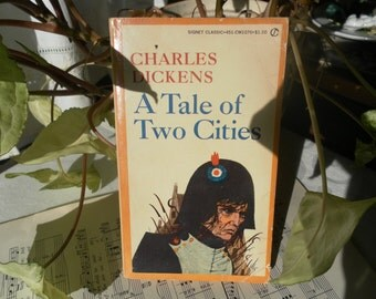 Tale of Two Cities Vintage Signet Classic Paperback 1960