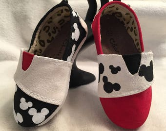Mickey Mouse Shoes - Girls Shoes - Disney Shoes - Girls Disney Shoes