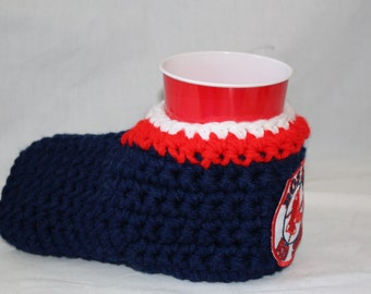 ready to ship - Boston Red Sox Drink Mitt  - The mitten with the drink holder - show your team pride