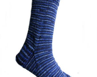 Socks Jeans Blue, size EU 41 - 42 - 43/US 11 - 12/UK 9 - 10