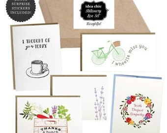 Thoughtful Greeting Cards - Idea Chic Stationery Box Set