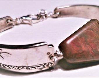 Hand Made Silverware Bracelet