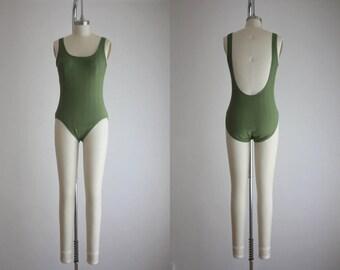 vintage celery maillot