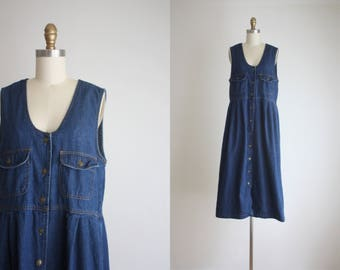 dark denim market dress