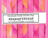 Double Fold Bias Tape  - Brushstrokes from FreeSpirit