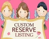 "SALE Reserve Listing  - Bernadette McMaster Custom Fleece Blanket - 30x40"""