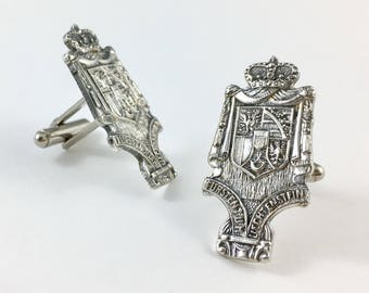 Liechtenstein Charm, Liechtenstein Cufflinks, Liechtenstein Man Gift, Liechtenstein Gift, Vintage Cufflinks, Liechtenstein Wedding