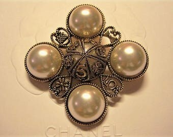 Summer Sale!!!! Chanel Faux Pearl Inspired Brooch