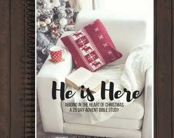 PDF DOWNLOAD He is Here Advent study book