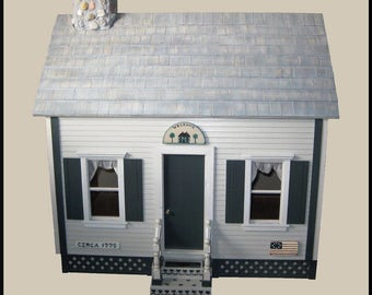 New Handcrafted Dollhouse Made with Love